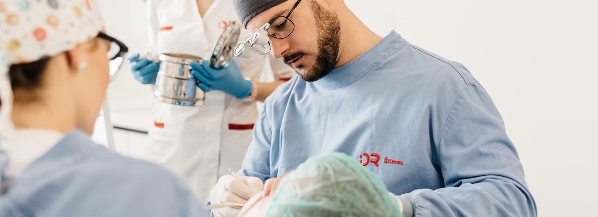 Oralna kirurgija   Štimac Centar dentalne medicine
